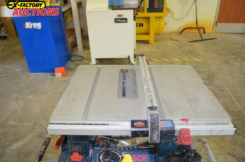 St 230309 Bosch 10 Model 4000 Portable Table Saw
